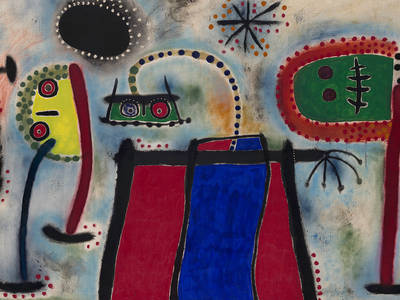 Exhibition Joan Miró. Murals and Perspectives.