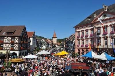 Bild Wein- und Stadtfest Gengenbach