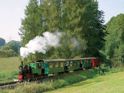 Fahrten mit der Bad Orber Dampfkleinbahn