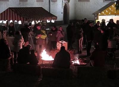 Bild Landfrauen-Advent im Schlosshof
