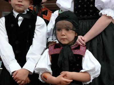Bild Erntedankfest mit Trachtenfestzug