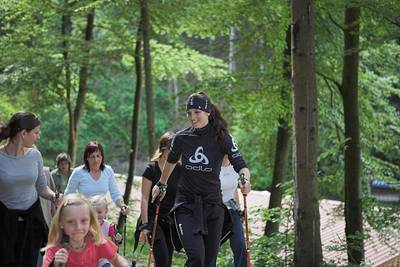 Bild Nordic Walking Training