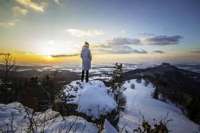 Bild Traufgänge Jubiläumswanderung 1:  Wintermärchen - Abendliche Winterwanderung im Fackelschein