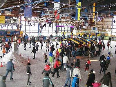 Kinderfest, Spiel und Spa auf dem Eis