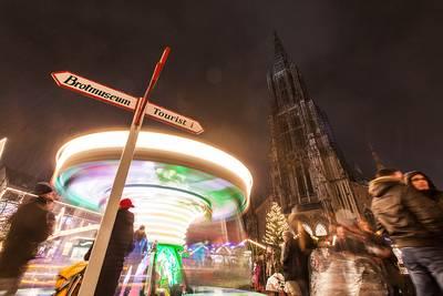 Ulmer Weihnachtsmarkt. (© bildwerk89)