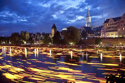 Lichterserenade auf der Donau