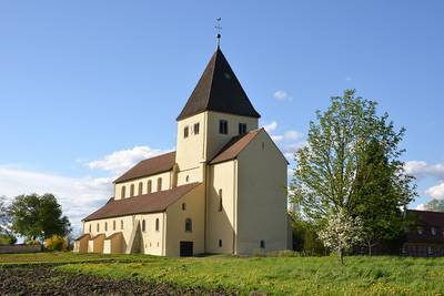 Patrozinium der Kirche St. Georg. (© Theo Keller)