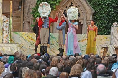 Open Air-Theater auf der Burg Hohenzollern