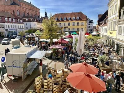 Historischer Marktplatz Homburg. (© Marianne Bullacher)