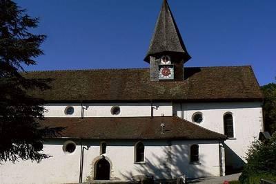 Kirchenfhrungen in der Wallfahrtskirche in Schienen