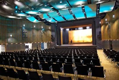 Messe Husum & Congress Großer Saal, Husum  Nordsee . © Andreas Birresborn