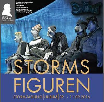 Storm-Tagung - Plakat-Ausschnitt. (© Storm-Gesellschaft - Husum)