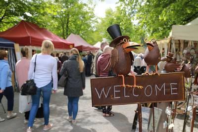 Handwerker- und Bauernmarkt im Kurpark Bad Sassendorf