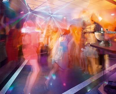 Discothek Club Vulcano. (© Hotel Vier Jahreszeiten)