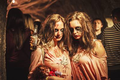 Halloween Party mit Cuts&Mouse