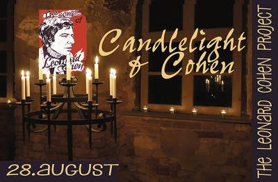 Kunst im GartenKultur im Kapuziner 2016 The Leonard Cohen Project - Candlelight & Cohen SONGS OF LOVE AND HATE