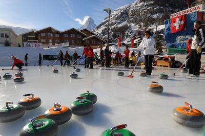 Horu Trophy Zermatt, tournoi de curling