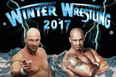 Winter Wrestling Plakat Ausschnitt. (© Fightclub Husum)