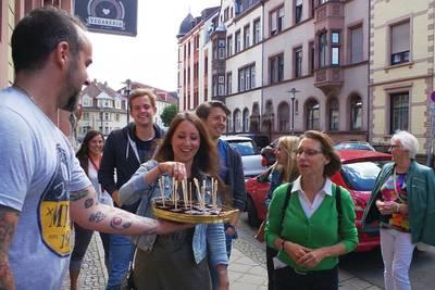 Eat the World Tour - Kulinarische Stadtführung - Saarbrücken. (© eat-the-world)