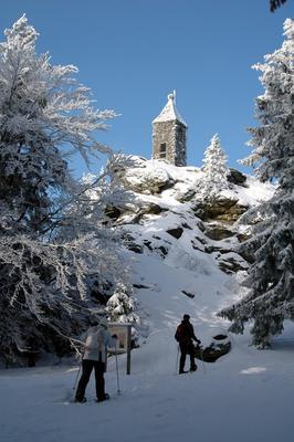 """Winterzauber erleben? ... geführte Schneeschuh-Erlebnistour auf dem """"GOLDSTEIG"""""""