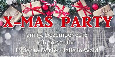 X-Mas Party in Wald