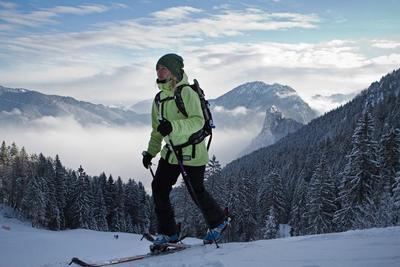 Skitourenlehrpfad - Kolbensattel