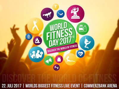 WORLD FITNESS DAY  DISCOVER THE WORLD OF FITNESS. (© EVTC EVENTELLIGENCE GMBH)