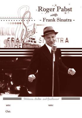 Frank Sinatra Show Roger Pabst & Swingin Strangers