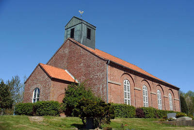 Salvatorkirche Simonsberg. (© Tourismus und Stadtmarketing Husum GmbH)