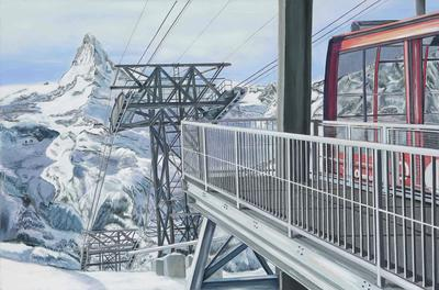 Zermatt Bergbahnen as a work of art