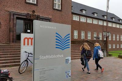 Stadtbibliothek Husum. (© J. Albert  Tourismus und Stadtmarketing Husu)