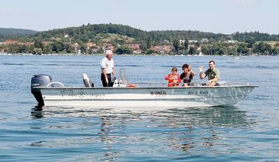 Inselbootstour - Ein Reichenauer erzhlt von seiner Insel. (© Hotel mein inselglck)