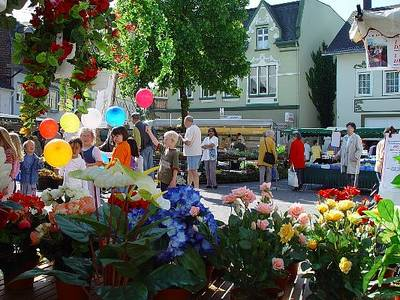 Frühlingsmarkt im Himmelmannpark