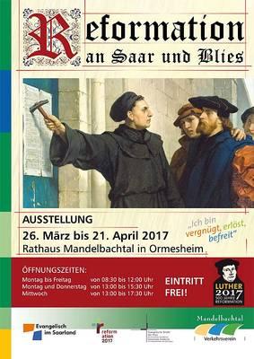 Ausstellung Reformation an Saar und Blies