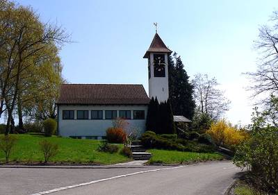 Kirchenfhrung in der ev. Petruskirche in Kattenhorn