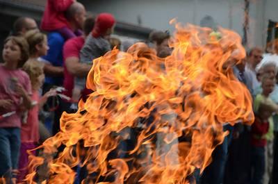Tag der offenen Tr, und Familienfest bei der Feuerwehr Hochheim