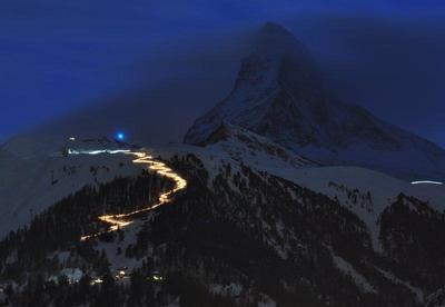 Fackelabfahrt Zermatt