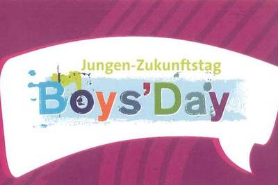 Postkarte Boys Day