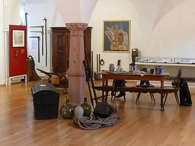 Museum im Schloss Wolfach mit Flößerstube