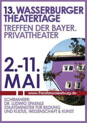 13. Wasserburger Theatertage - Sensemble Theater Augsburg