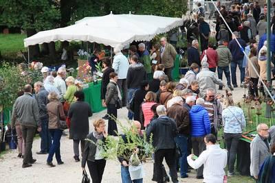 Kunsthandwerkermarkt, Nacht-Flohmarkt und Gartentage