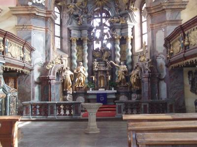 Evangelische Kirche zum Hl. Kreuz, Foto Besucherinformation Neuzelle