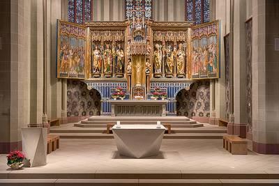 Altar. (© Münster St. Jakobus)