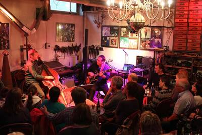 Live-Jazz im Englischen Bahnhof. (© Jazzclub Englischer Bahnhof)