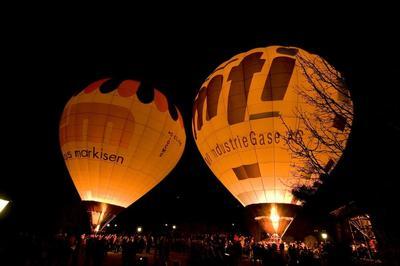 Ballonglühen - Night Glow am Tag der 1000 Lichter