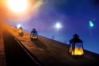 Lichterabend in der Thermenlandschaft und Saunawelt