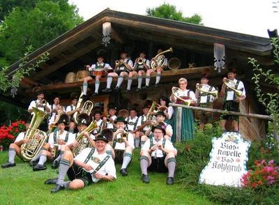 Abschlusskonzert der Blaskapelle Bad Kohlgrub