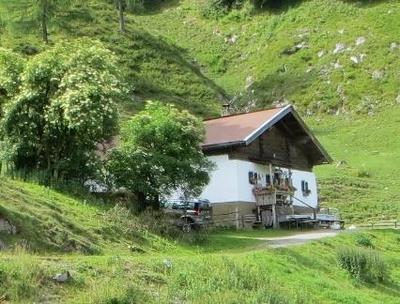 Gefhrte Wanderung zu einer Kruteralm bei Kirchdorf auch fr ungebte Bergwanderer geeignet