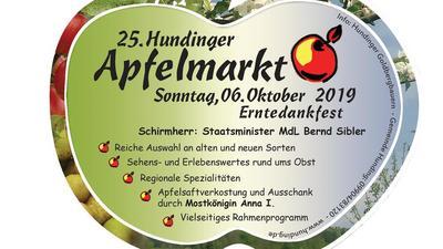Apfelmarkt in Hunding und Erntedankfest