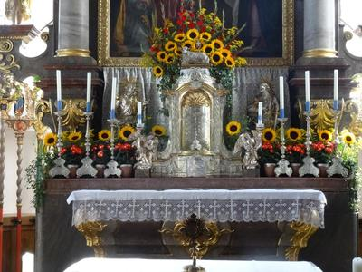 Kirchenfhrung in Grassau
